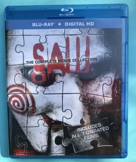 Blu-Ray + Digital HD - SAW - The Complete Collection - ALL 7 Films (Unrated) - Played ONCE! $10