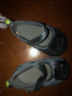 Size 3 dark gray shoes