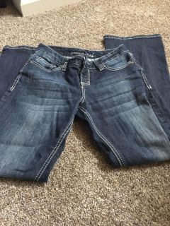 Maurice's 1/2 short and curvy jeans