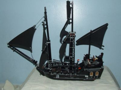 Lego ~ The Black Pearl Ship Pirates Of The Caribbean