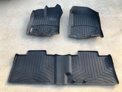 WeatherTech Floor Mats for 2011-2013 Ford Edge