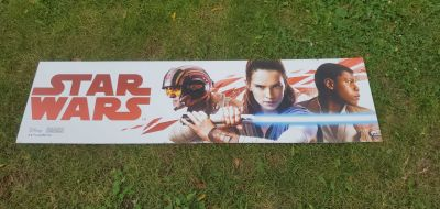 Star wars foam banner