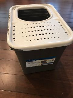 New never used kitty litter pan $12