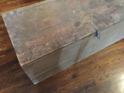Old wood trunk/chest
