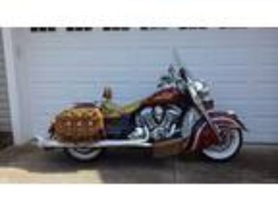 2014 Indian Chief Vintage Many Extras, Low miles