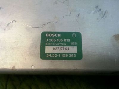 Find Bosch 0 265 105 019 ABS Control Module motorcycle in Wenatchee, Washington, United States