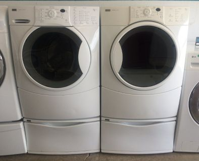 Kenmore Elite Front Load Washer and Electric Dryer Set