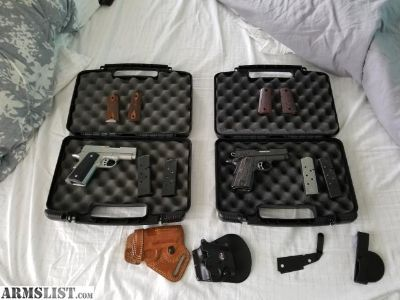 For Sale: Kimber Tactical Ultra Carry II and a Kimber Ultra carry II stainless