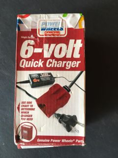 Power wheel charger