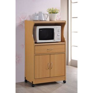 New microwave cart