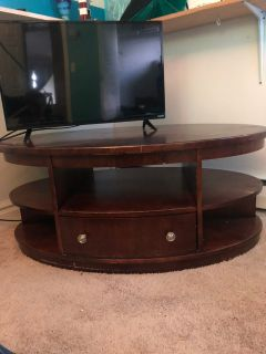 Solid wood table $50