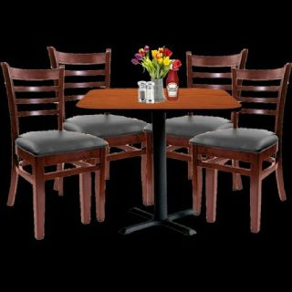Mahogany Restaurant Chairs by Stackable Chairs Larry