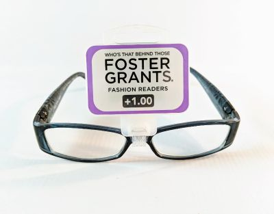 Brand New wit Tag Foster Grant Women's +1.00 Fashion Reader Glasses.