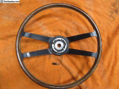 wood aluminum sterring wheel