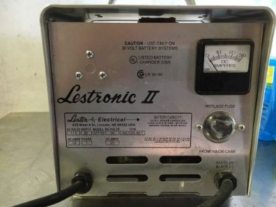 Find Lestronic II 36 Volt Golf Cart Battery Charger motorcycle in Pottstown, Pennsylvania, United States, for US $200.00