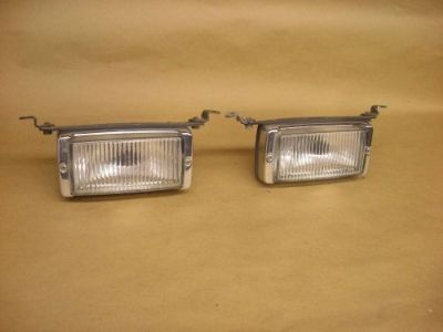 Purchase Mercedes Benz W107 W116 Bosch Fog Lights 380SL 450SL 560SL 450SEL motorcycle in Alma, Arkansas, United States, for US $89.95