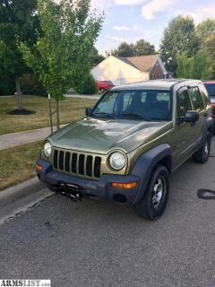 For Sale/Trade: 2003 Jeep Liberty sport 4wd