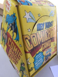 Collectors! DC Comic Book Candy complete set