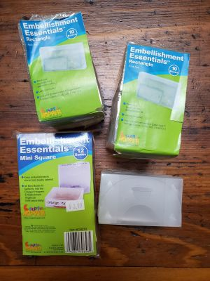 Embellishment essentials organizers