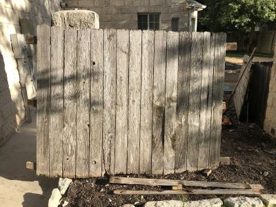 8 foot fence piece - FREE