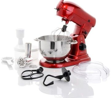 Wolfgang puck 700 watt commercially rated stand mixer - WHITE - brand new
