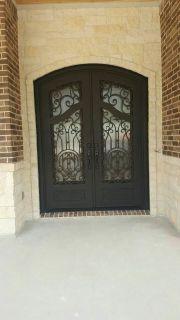 Adonis Style Iron Doors