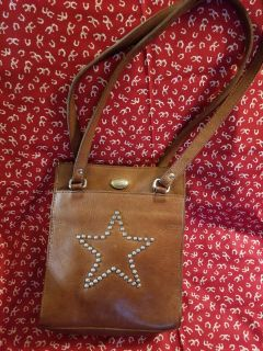 American west leather purse