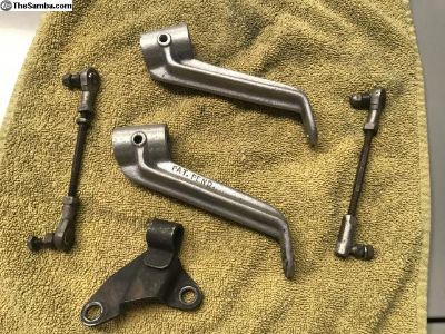 Assorted Hex Bar Carb Linkage parts