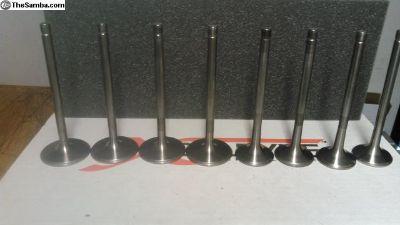 New Titanium Valves