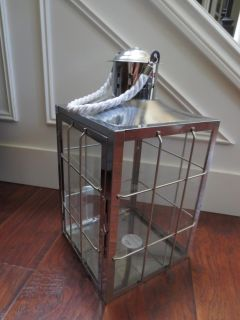 Metal/Glass Candle Holder