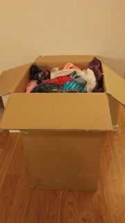 Huge box of girls 10-12 clothes (all seasons)