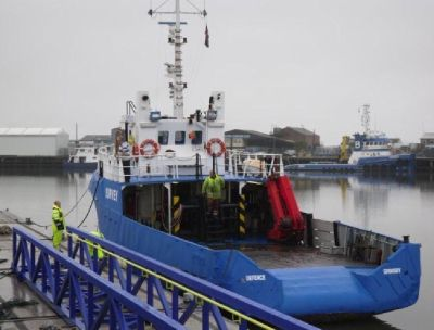 Crew Transfer Vessel for Hire - Work Boat Hire