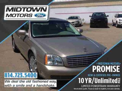 Used 2003 Cadillac DeVille 4dr Sdn