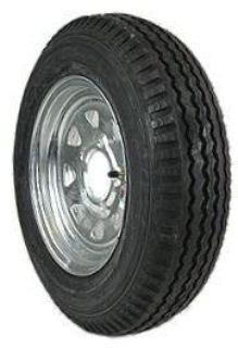 "Purchase 5.30x12 Galvanized Boat Trailer Wheel 12"" Tire 4 Lug motorcycle in Millsboro, Delaware, US, for US $73.55"