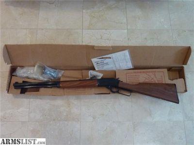 For Sale: NEW IN BOX MARLIN 1894CB .357/38 JM STAMP