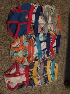 15 pairs of boys 2t-3t underwear. Great lot for a potty trainer!