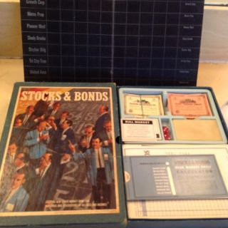 Stocks and Bonds board game