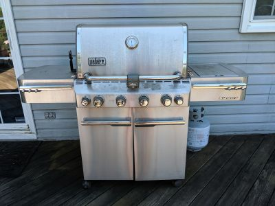 Weber Summit series gas grill
