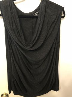 Lane Bryant black top with sparkles. Size 18/20