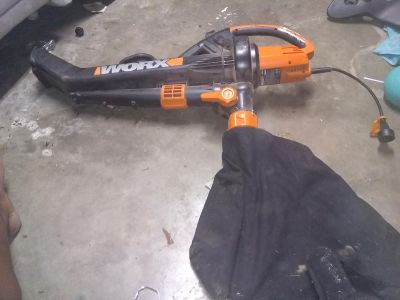 WORX ECLECTICAL BLOWER
