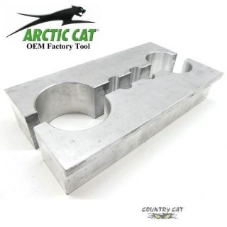 Sell Arctic Cat FOX ACT Shock Body & Rod Vice Clamping Blocks Servicing - 0644-425 motorcycle in Sauk Centre, Minnesota, United States, for US $79.95