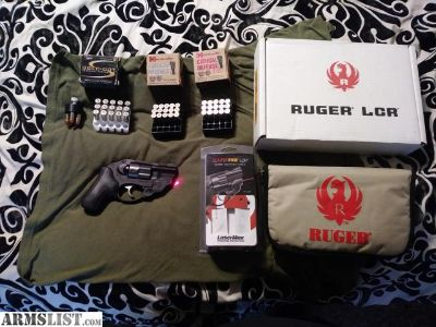 For Sale: Ruger LCR 38 spc +P with lasermax laser