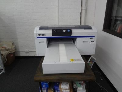 Epson SureColor F2000 White Edition DTG Printer RTR# 9051586-01