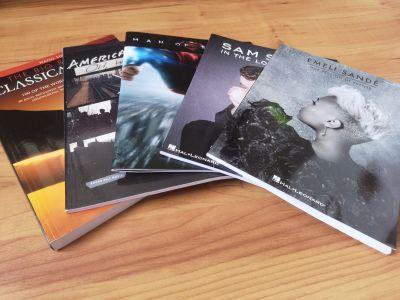 Piano Sheet Music Books New