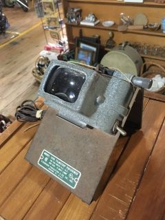 Vintage film magnifying projector