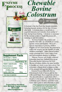 Children's Chewable Colostrum Immune Booster