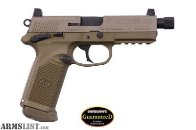 For Sale: NEW IN CASE FN AMERICA FNX-45 TACTICAL 45ACP 3 15ROUND MAGS FDE