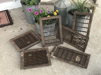 Old steel vents ...use them or do something crafty! All for $30