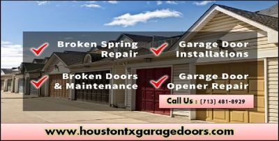 24/7 Emergency Garage Door Repair($25.95) Houston, 77008 Texas