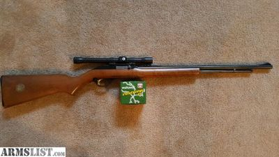 For Sale: Marlin 60W w/ Weaver Scope and 500 rds .22